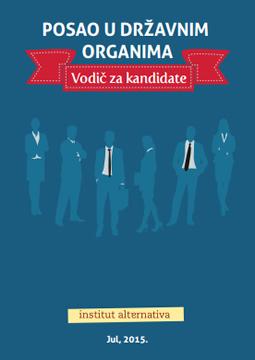 Posao u državnim organima - Vodič za kandidate